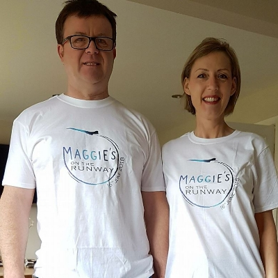 SUE & MARK NICKLEN - Sue is living with metastatic breast cancer that has spread to her organs and more recently her brain. Thankfully, Sue's treatment is continuing to keep the disease at bay.Sue's husband Mark is proud to be escorting his wife down the catwalk.