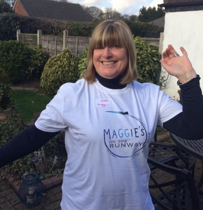 JULIE WRAY - Julie has had cancer twice, first breast cancer in 2006 followed by bowel cancer in 2016.