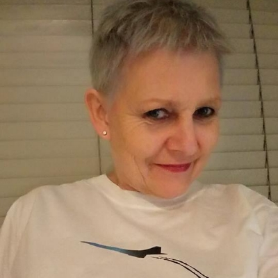 PAM DOBSON - Pam was diagnosed with breast cancer in 2016 after she found a lump whilst showering.