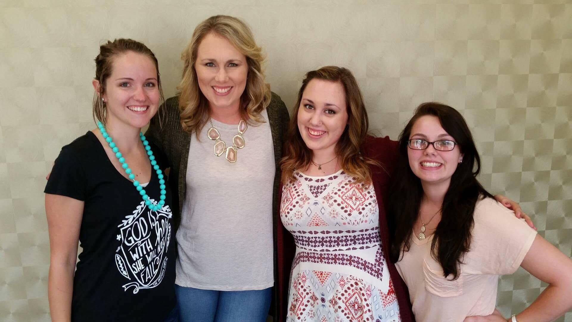 Myself, Laura & Rachel, Alex | The MOST AMAZING ladies I have ever met! I am so excited to watch our growth together!