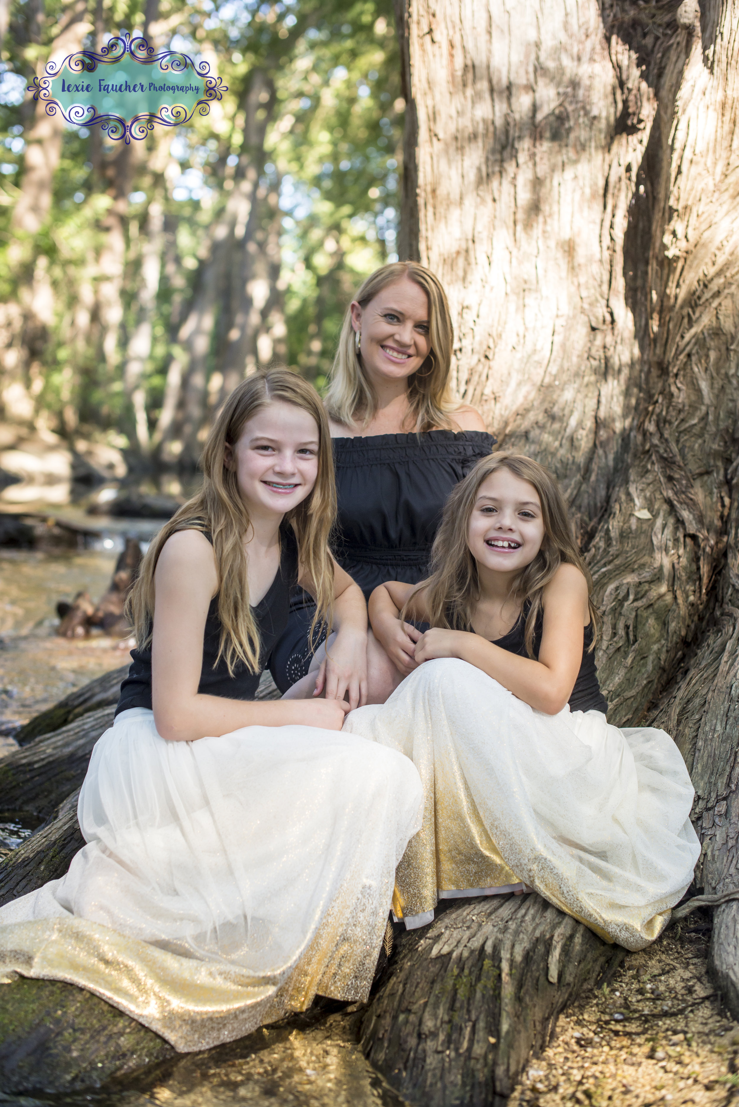 Summer family session in Boerne, TX at Cibolo Nature Center