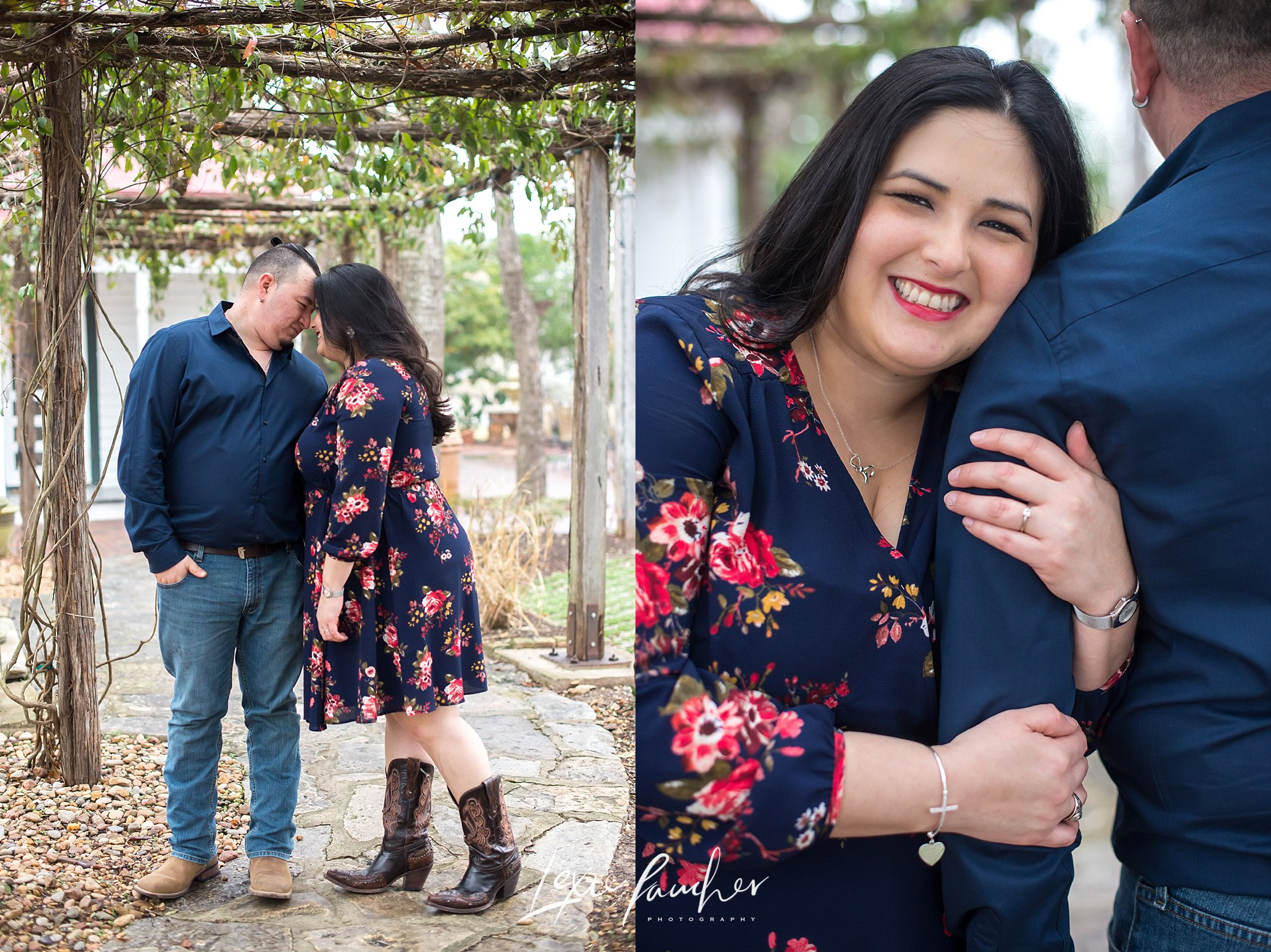 Engagement session in grené texas