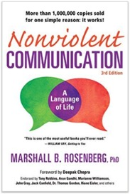 "Nonviolent Communication – A Language of Life, by Marshall B. Rosenberg - Programming code runs computers and transforms them into mostly useful hardware. Language runs our brains and has the power to make our lives heaven or nightmare. Dr Rosenberg offers a powerful professional insight into how our language shapes our interactions and introduces or removes conflict from our lives. Read this book, and you will look with new eyes at simple phrases like ""You need to …""."