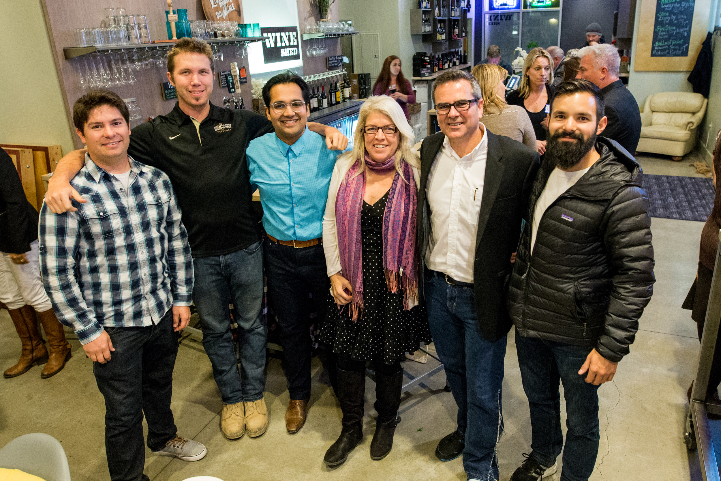 2017 dwellforward team    left to right: Ian Ferguson (Co-Chair), Enrique Ivers (superdweller), M. Farid Shahid (Co-Chair), Dove Daniel (Co-Chair), Jefferson Eckles (Executive Director, HBACC), William Vega (superdweller).