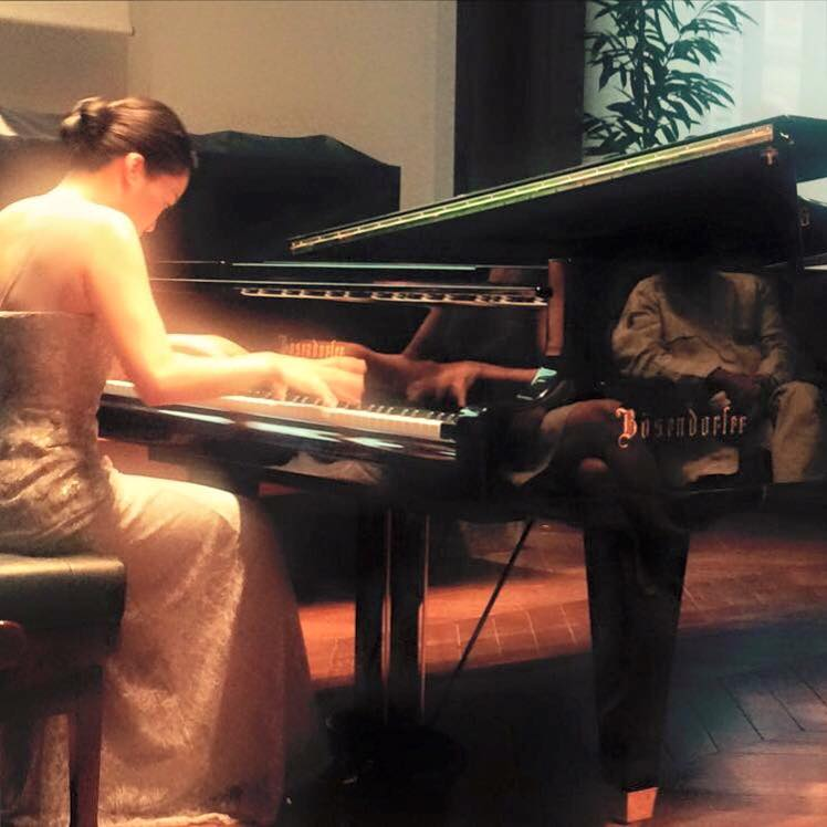 June Wu performs Liszt Mephisto Waltz at the Chambre des Notaires in Paris.