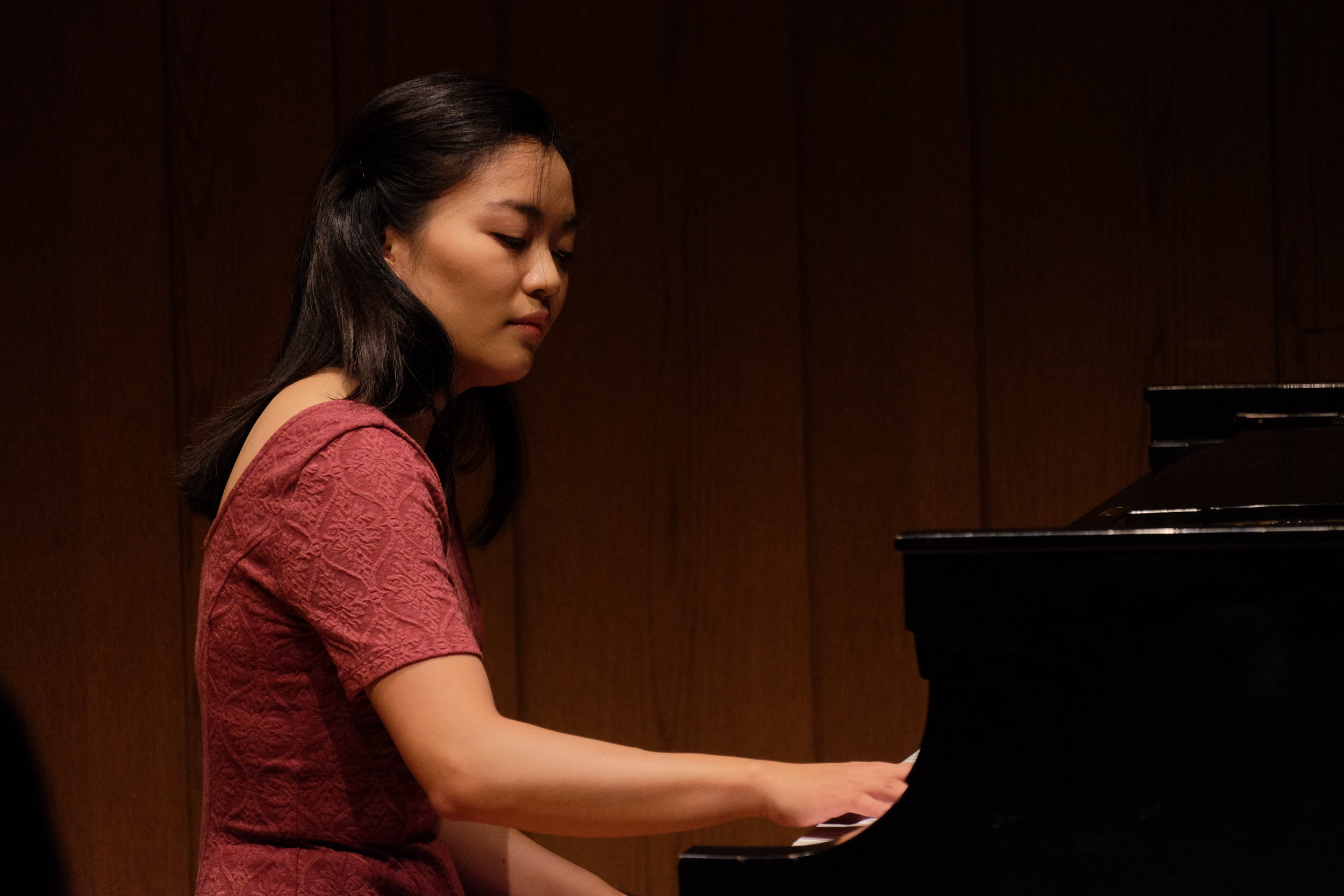 June performs works by Schubert, Liszt, Beethoven in a chamber music recital at Rose Recital Hall at the University of Pennsylvania.