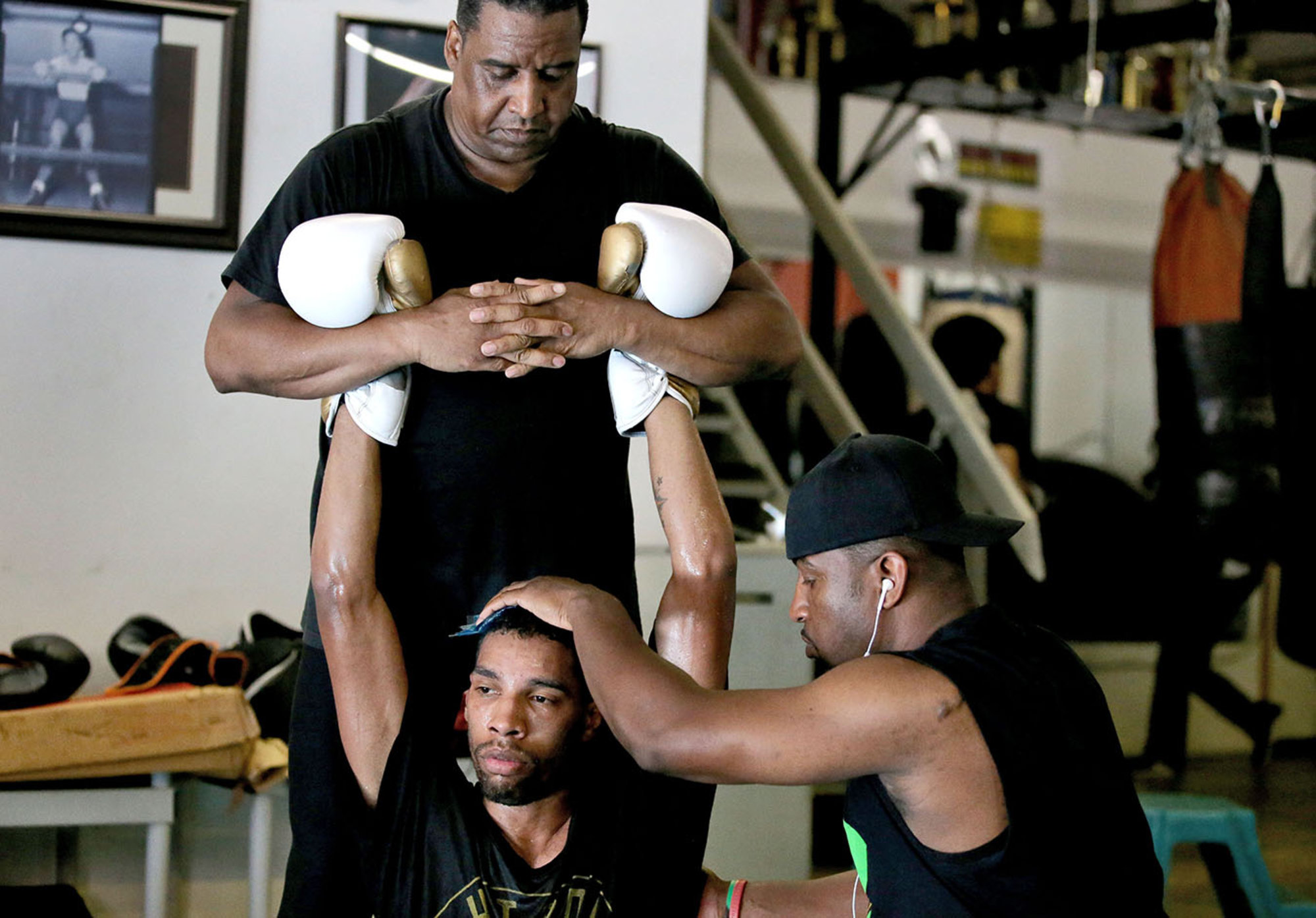 Young people get a fighting chance at Minneapolis boxing gym the Circle of Discipline