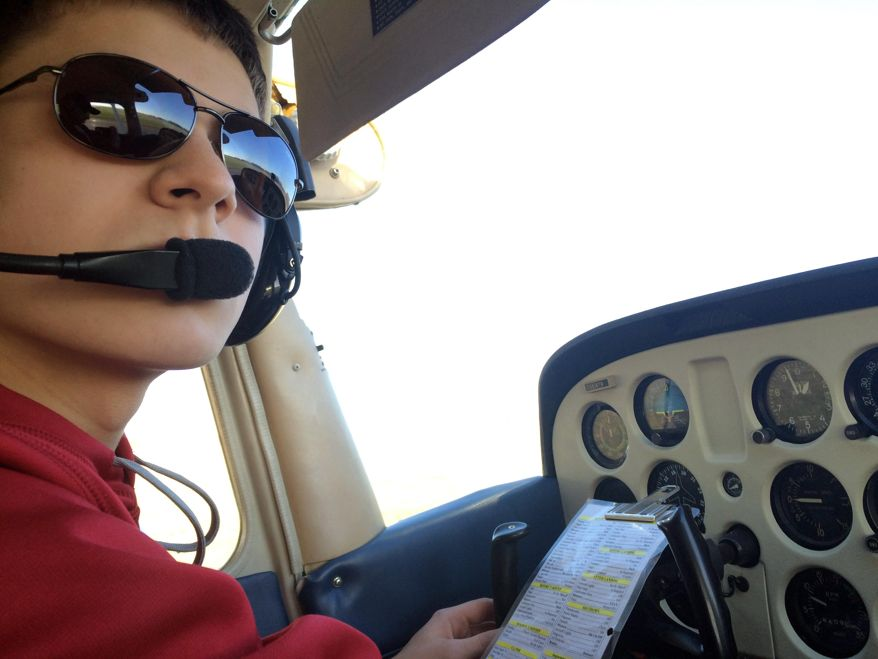 Vadnais Heights teen learned to fly before he could drive