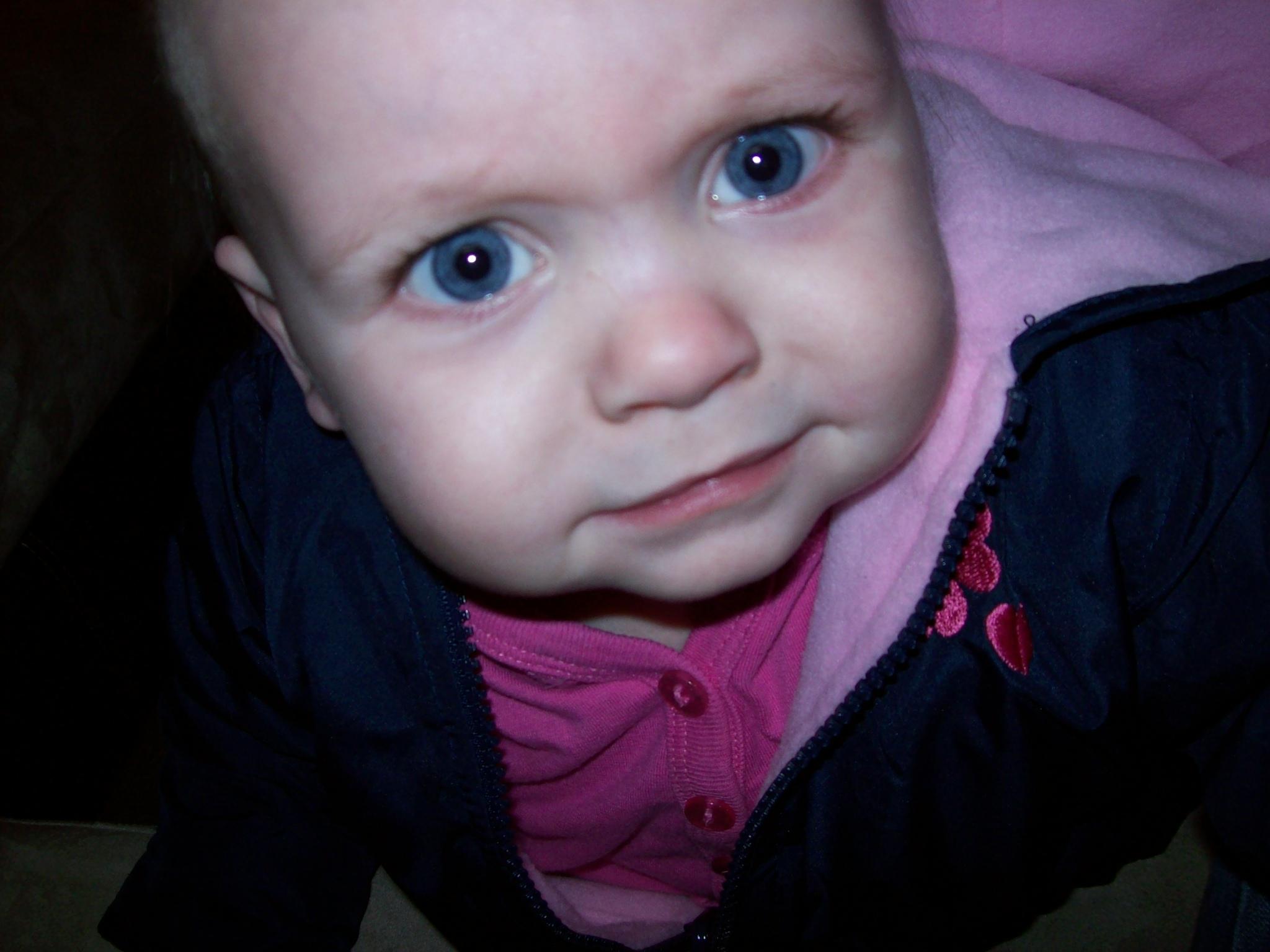 crazy baby face