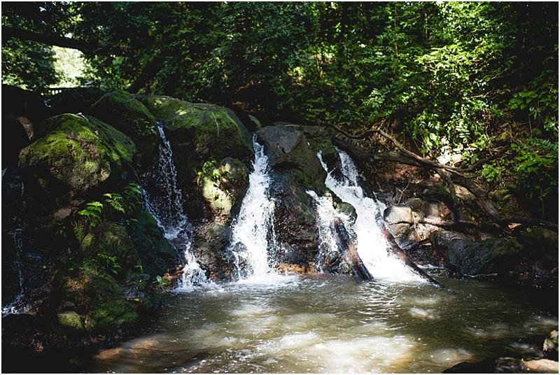 waterfall hike oahu hawaii candice macdonnell photography