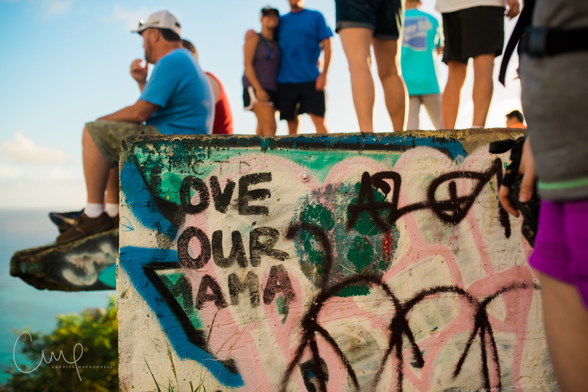 love your mama graffiti pillboxes hike oahu hawaii