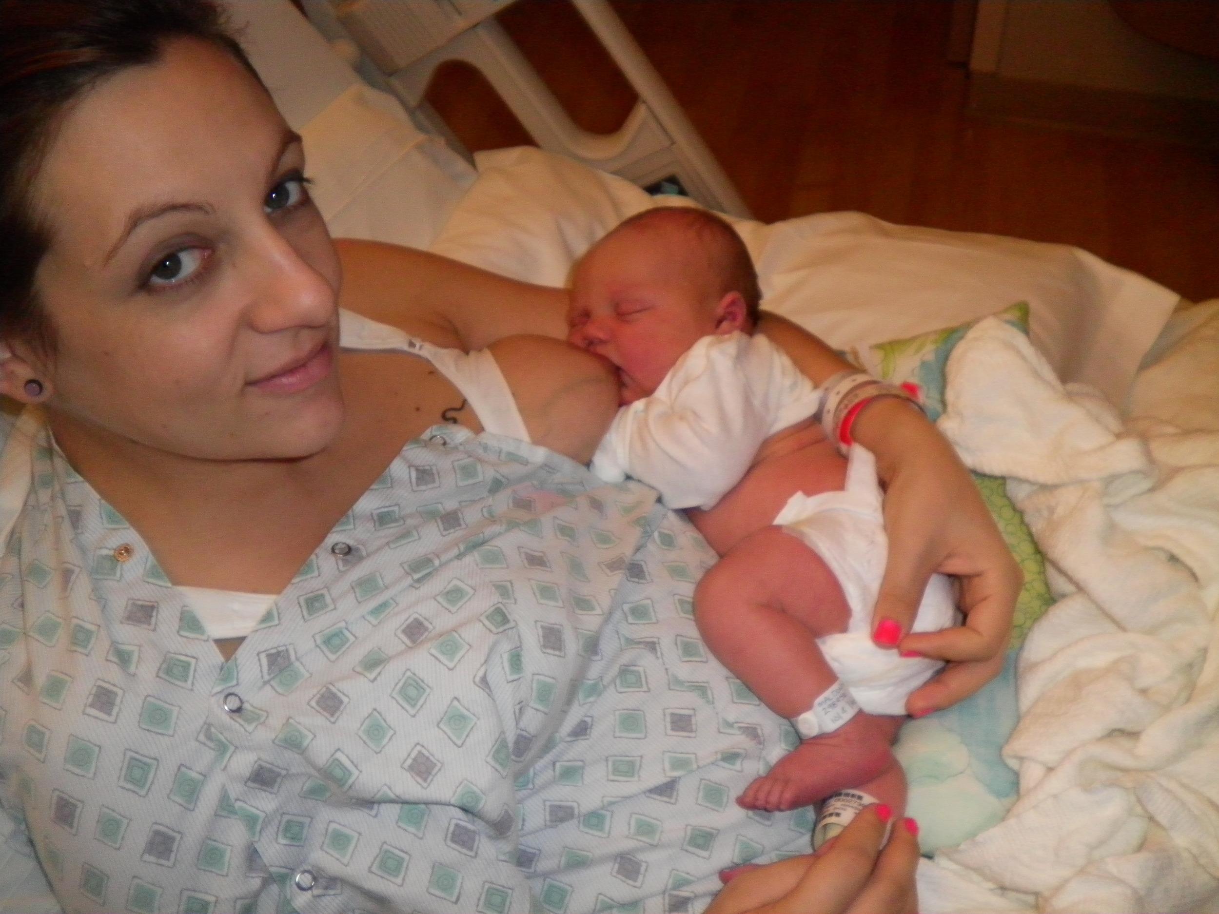 first time breastfeeding newborn - my story as a birth photographer oahu hawaii birth and family documentary photographer