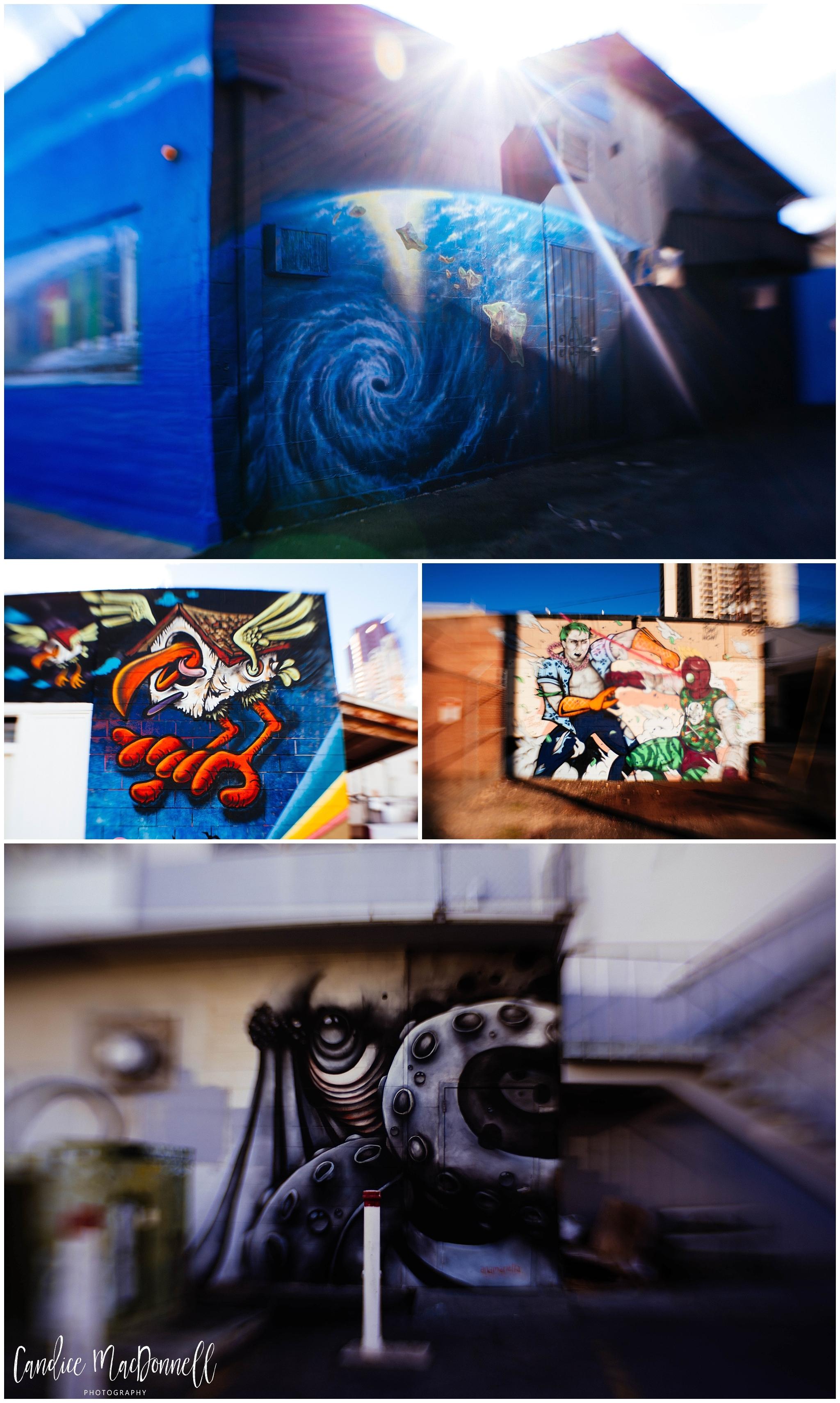 Candice MacDonnell Photography - Downtown Honolulu Graffiti