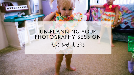 unplanning your family photos
