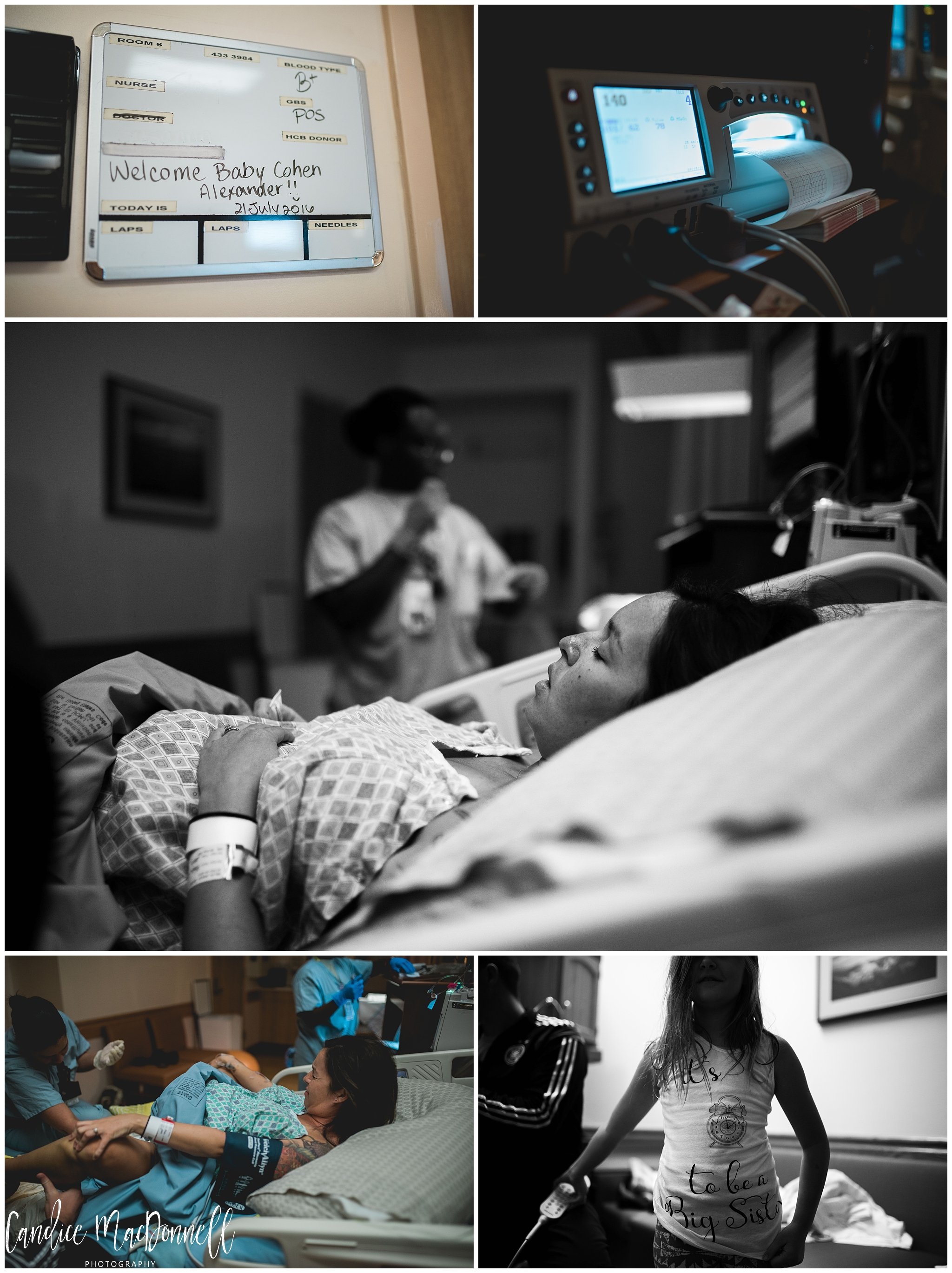 mom and family waiting on baby to arrive honolulu birth and family documentary photography