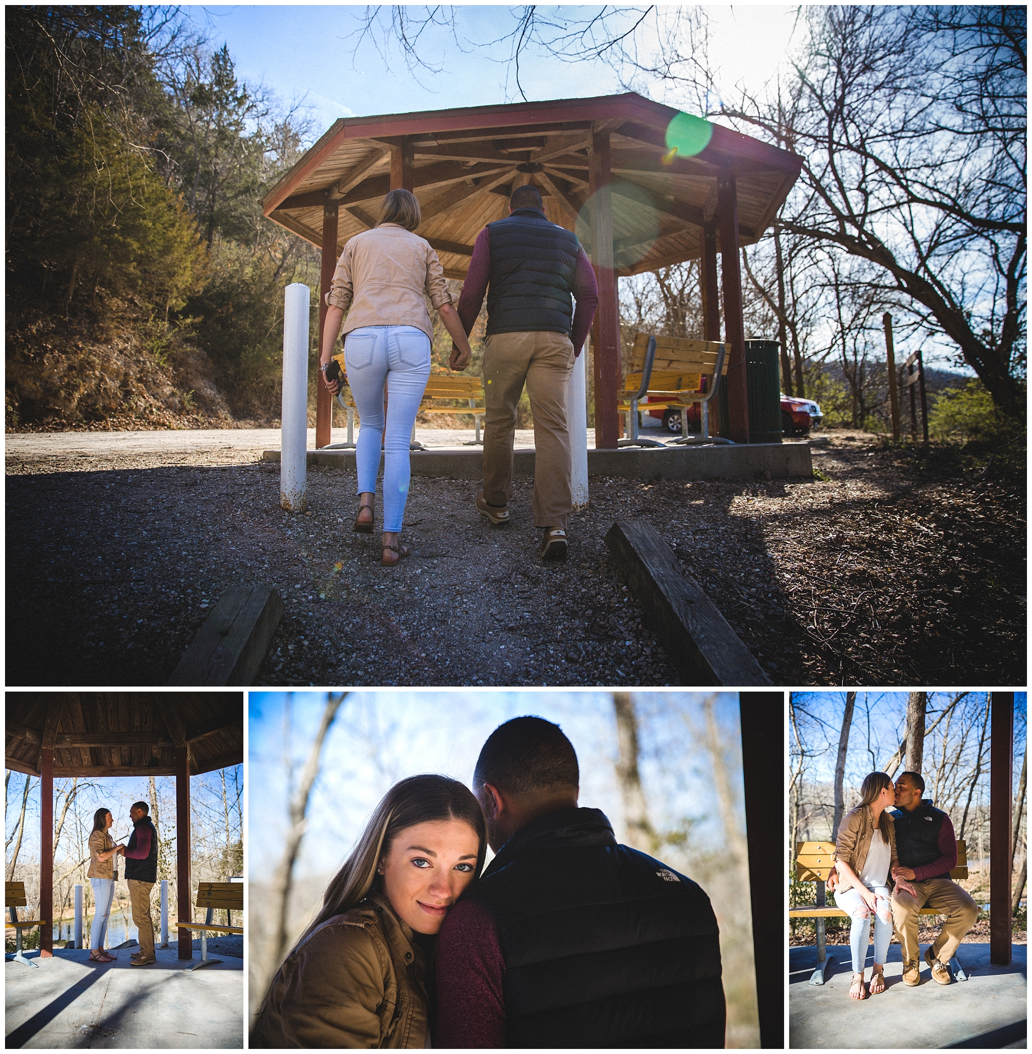 couples engagement photography in waynesville MO
