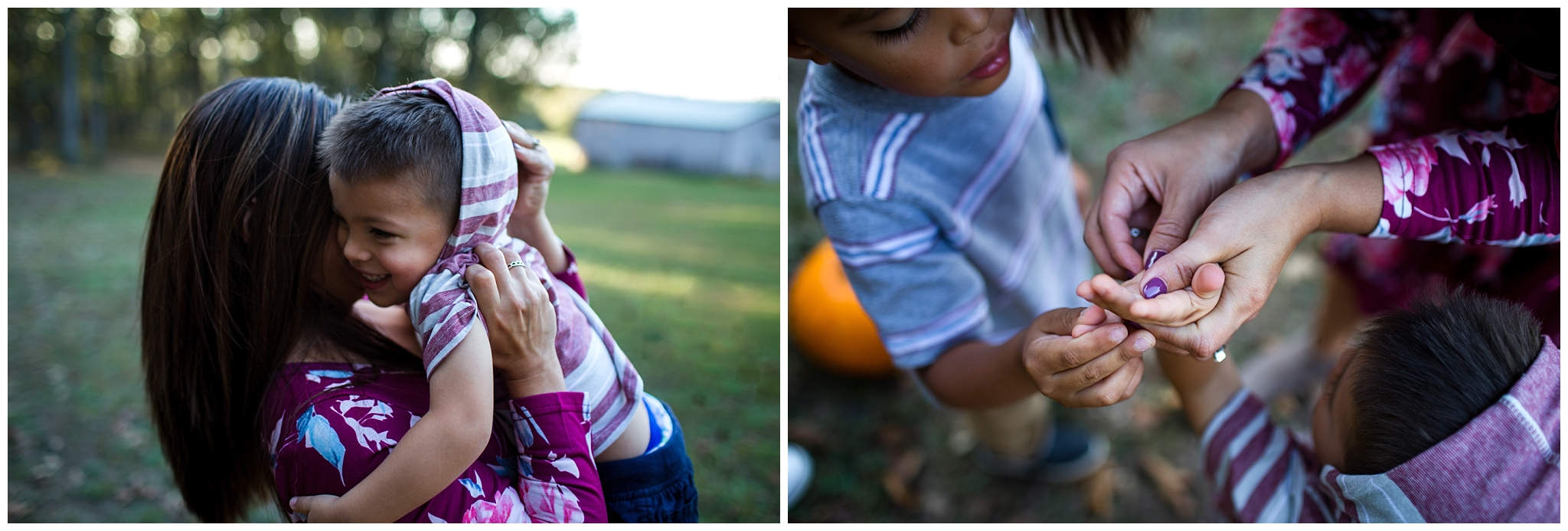lifestyle photography of mother and two children in waynesville missouri