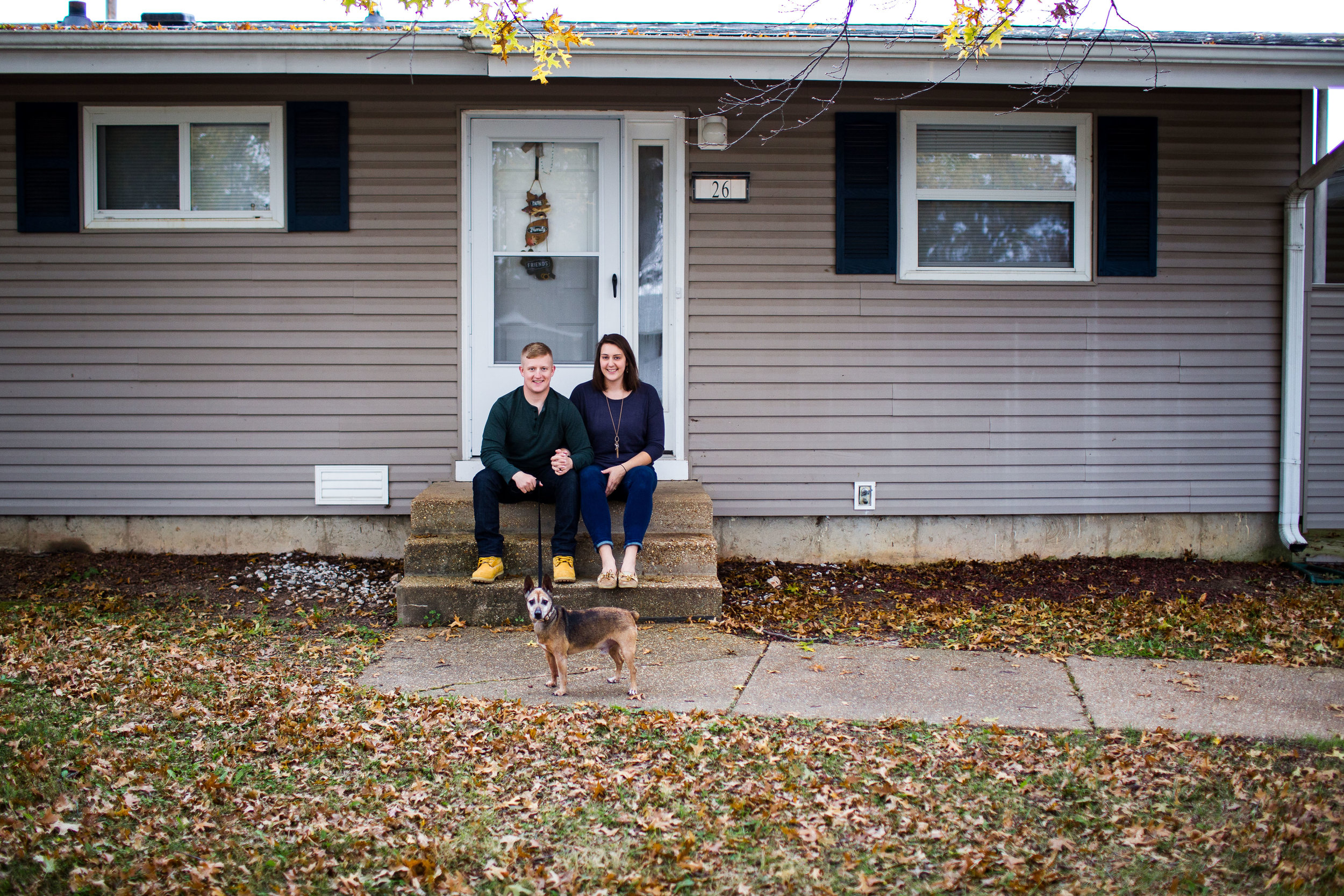 our first home lifestyle photograph fort Leonard wood mo