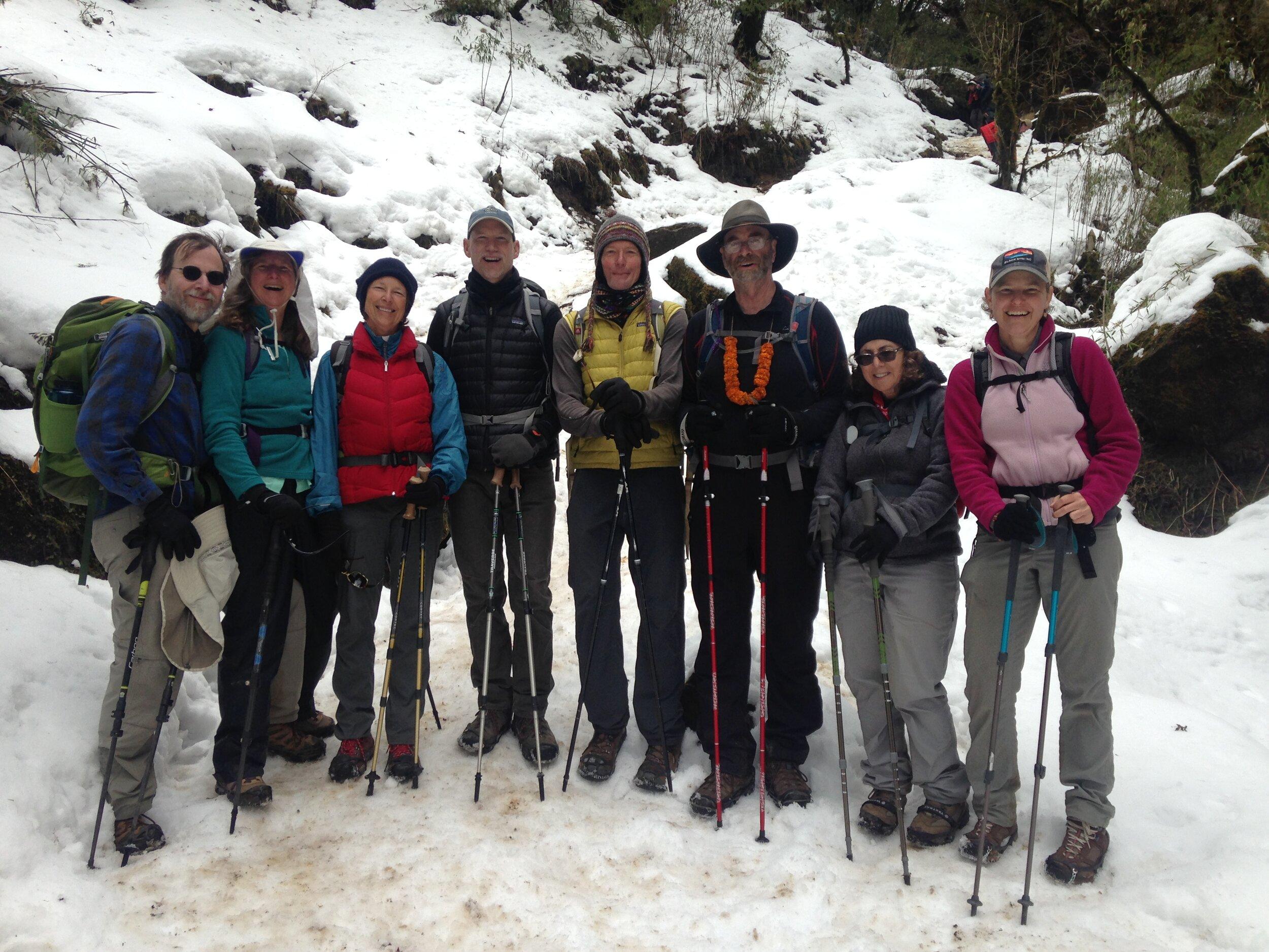 Nepal Trek February 2019