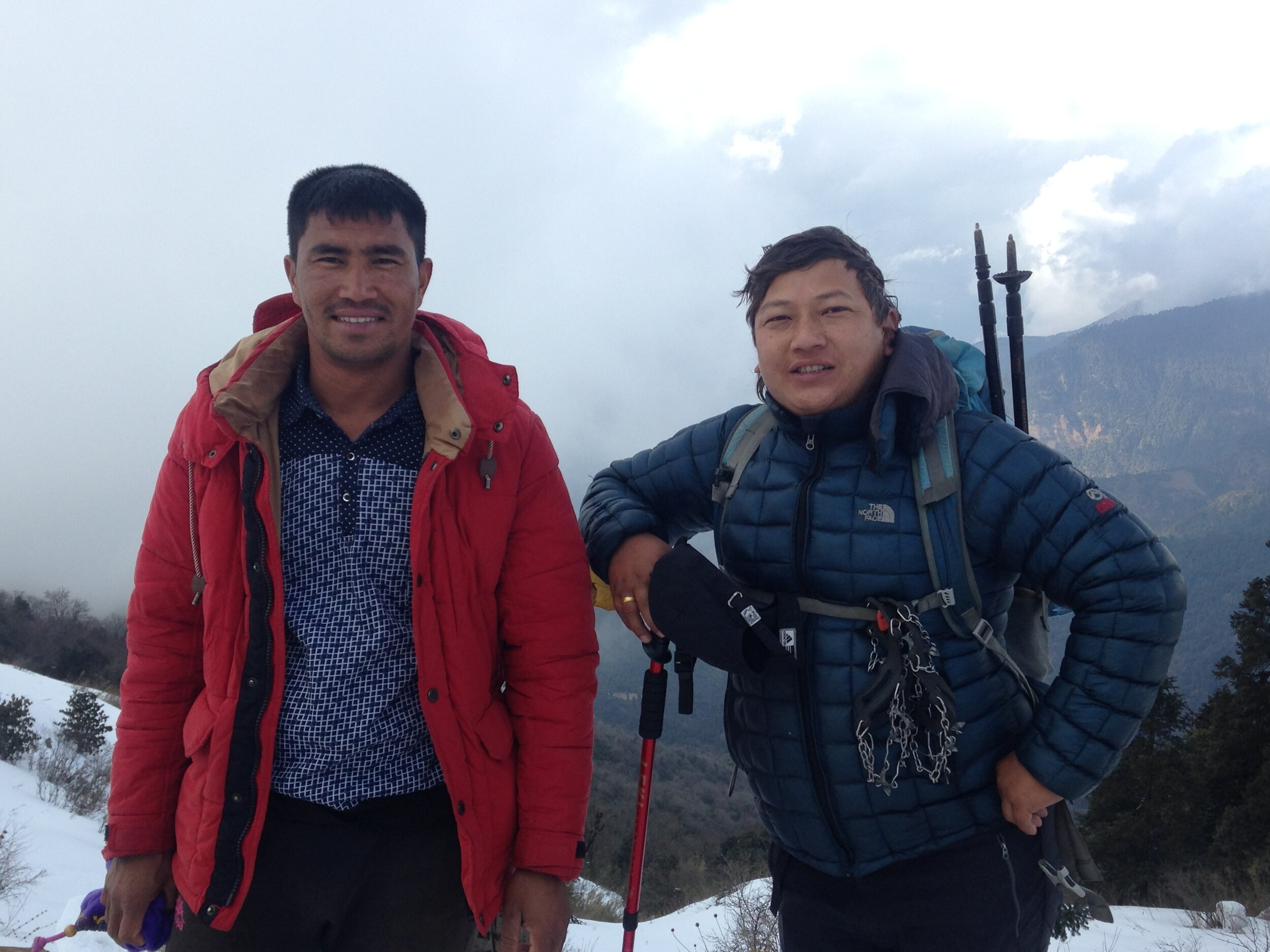 Rissi and Ram, two dear friends who will be our guides and supports