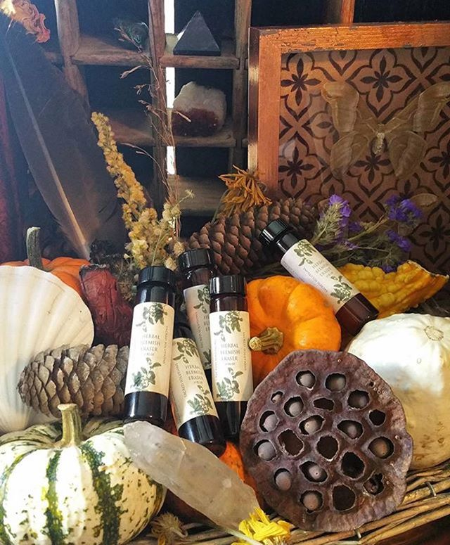 Sacred Solutions Herbal Blemish Eraser Oil blend is here for the Fall season in larger jars! 🎃🌾🍁🍂🎃 #sacredsolutions #acneoilblend #blemisheraser #sacredsolutionsskincare#acne #acnetreatment #acnescars #blemishes #blemishfree #organic #organicskincare #natural #naturalskincare #treatyourself #handmade #etsyshop #etsystore #etsy #blacklotustattoogallery #bltg #etsyfinds #facial #etsystore  Available on Etsy and @blacklotustat2gallery !
