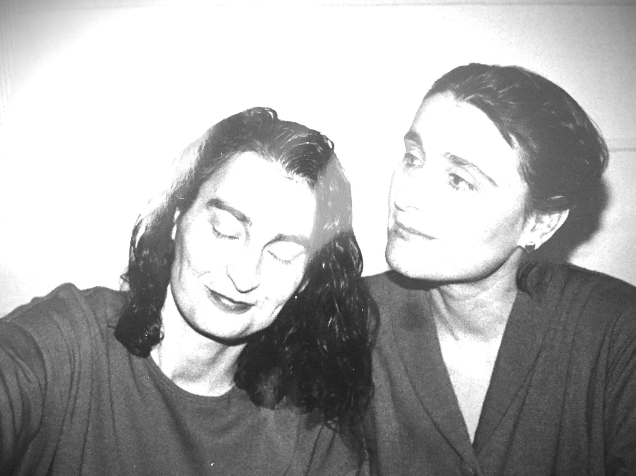 T Begley (left) and Olga Broumas (right)