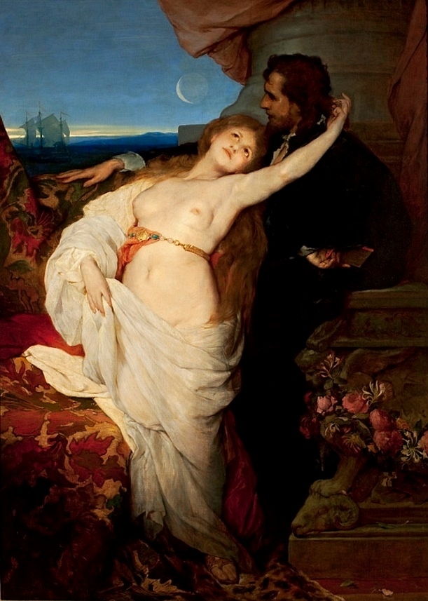 Tannhäuser, painting by  Gabriel von Max  (c. 1878)