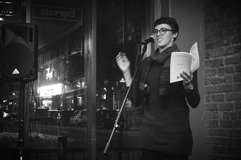 """Marielle Grenade-Willis - is a poet, volunteer, vocalist, and gardener from Virginia. Now living in Colorado, she works for AmeriCorps and listens to the ground and watches the sky. Her poetry has been featured on CPR: Public Radio International's """"The World"""