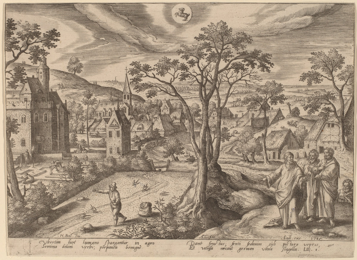 """The Seed is the word of God"" (Aries)  