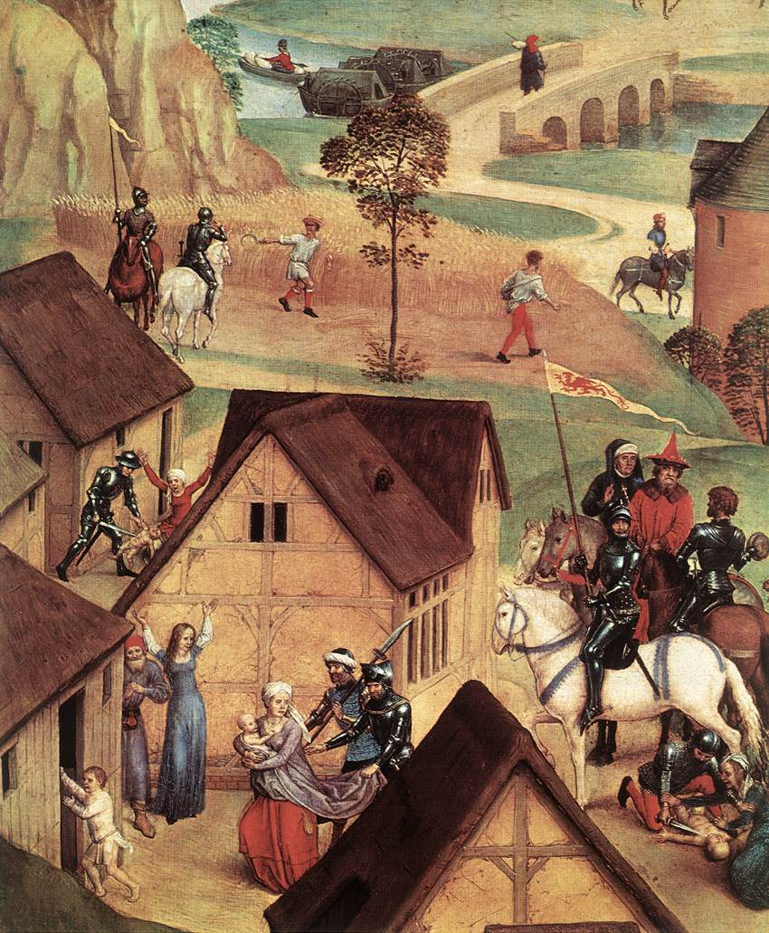 Advent and Triumph of Christ  (detail) | Hans Memling  |  1480  | oil on panel