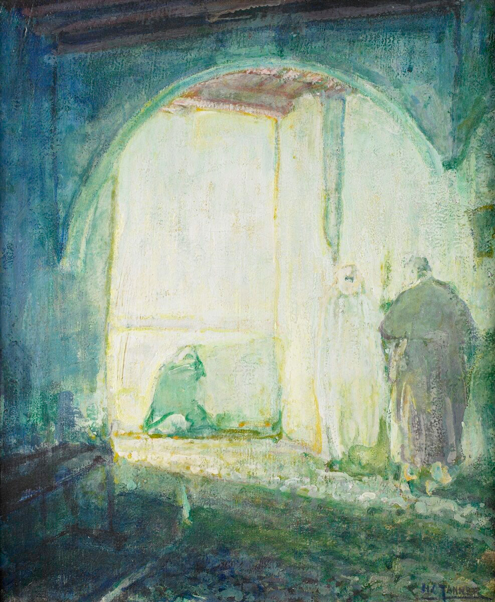 Moroccan Scene  | Henry Ossawa Tanner | 1912 | oil on canvas