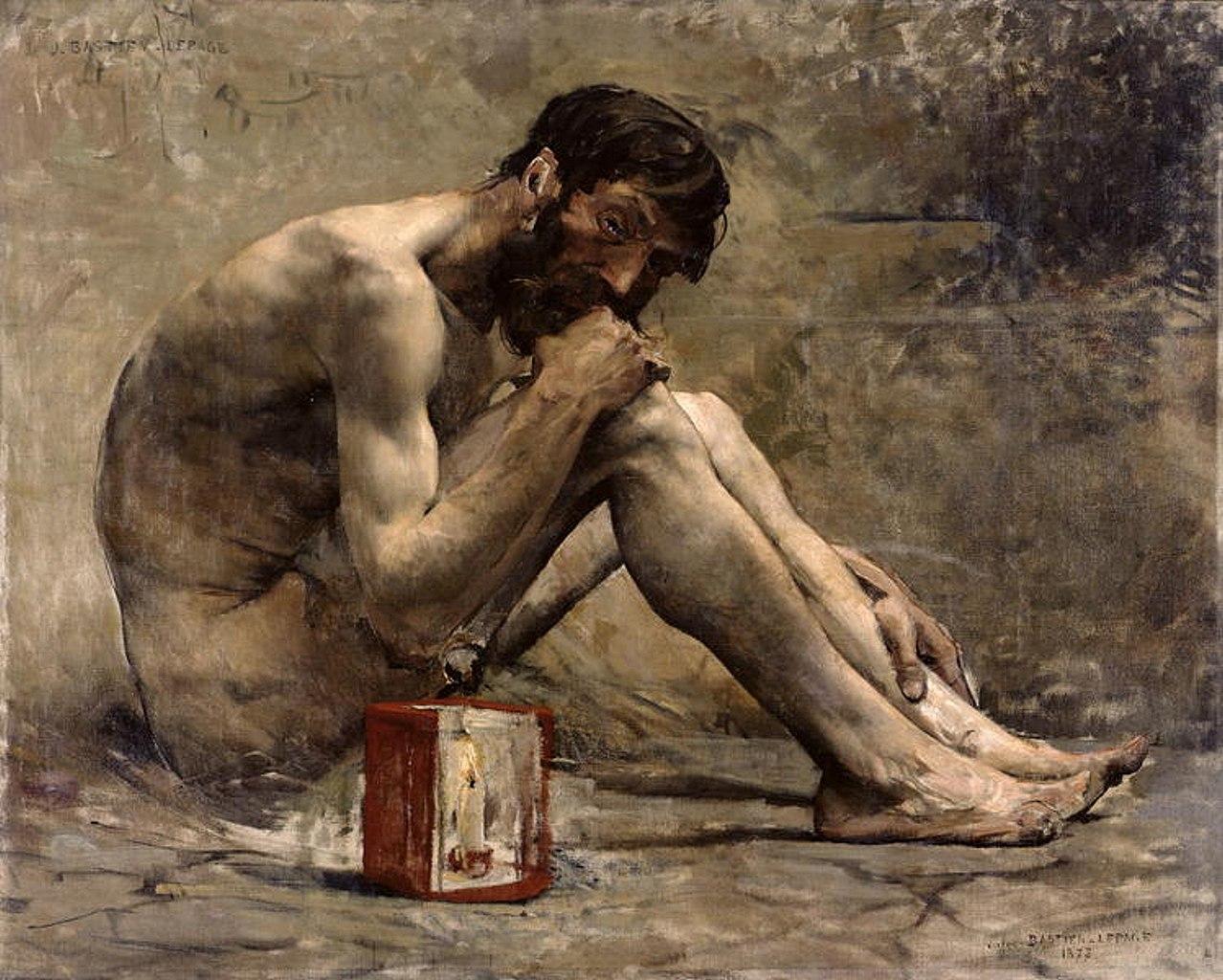 Diogène  | Jules Bastien-Lepage | 1873 | oil on canvas