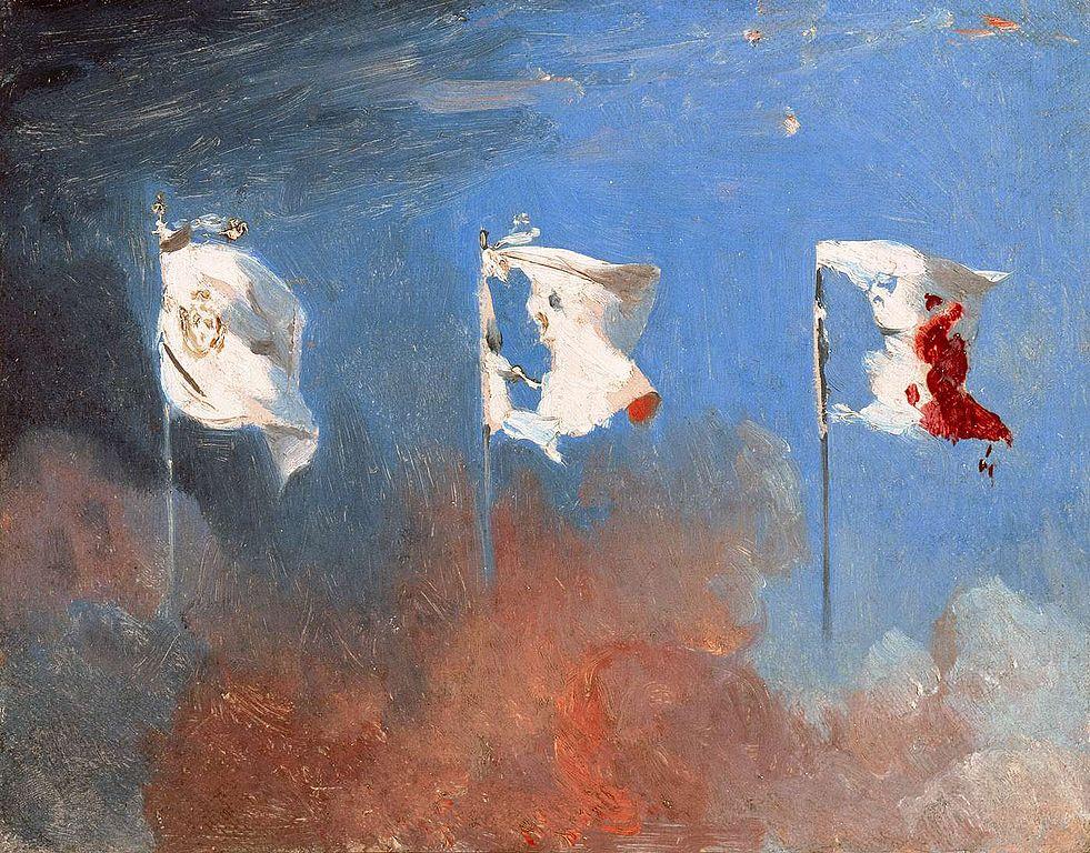 Scène de Juillet 1830  | Léon Cogniet  | 1830 | painting