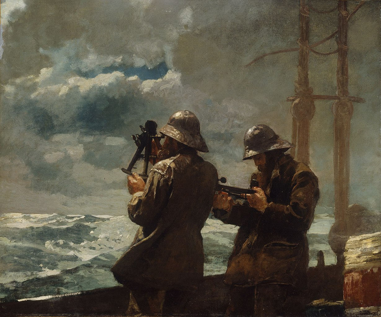 Eight Bells  | Winslow Homer | 1886 | oil on canvas