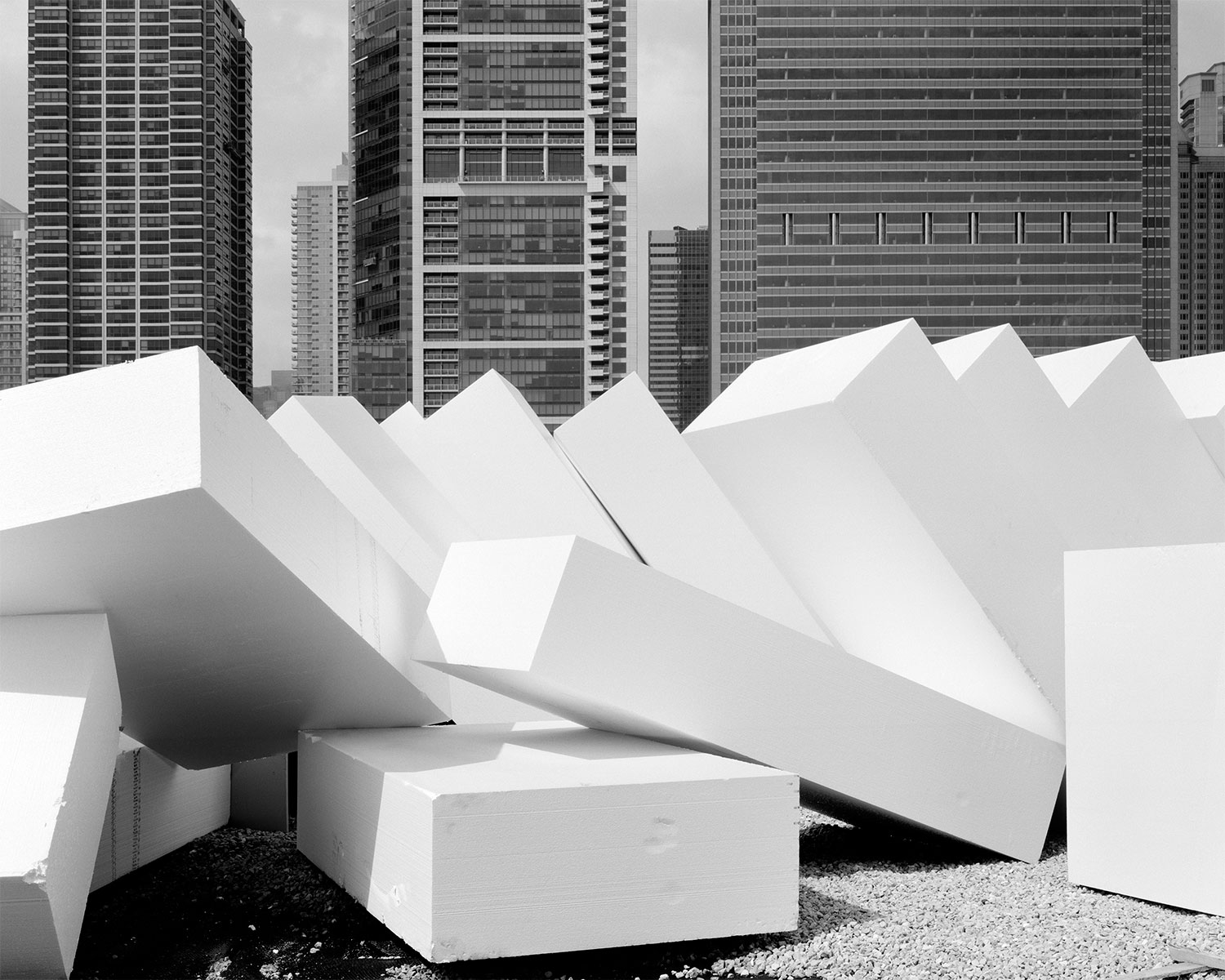 These images reveal the underlying structure of Chicago's Maggie Daley Park as well as other public parks as detail studies.