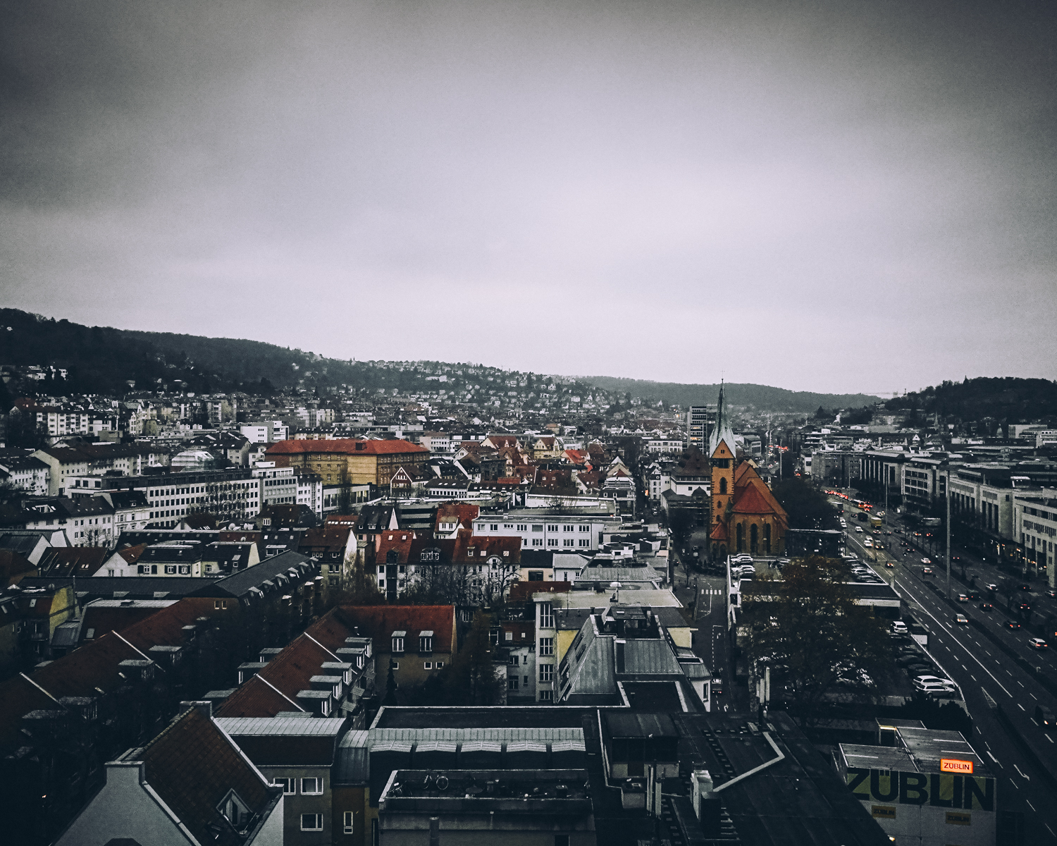 Above Stuttgart a few weeks into getting to know the P9. This locations fueled some insightful testing for myself to better judge the sensors reaction to light.