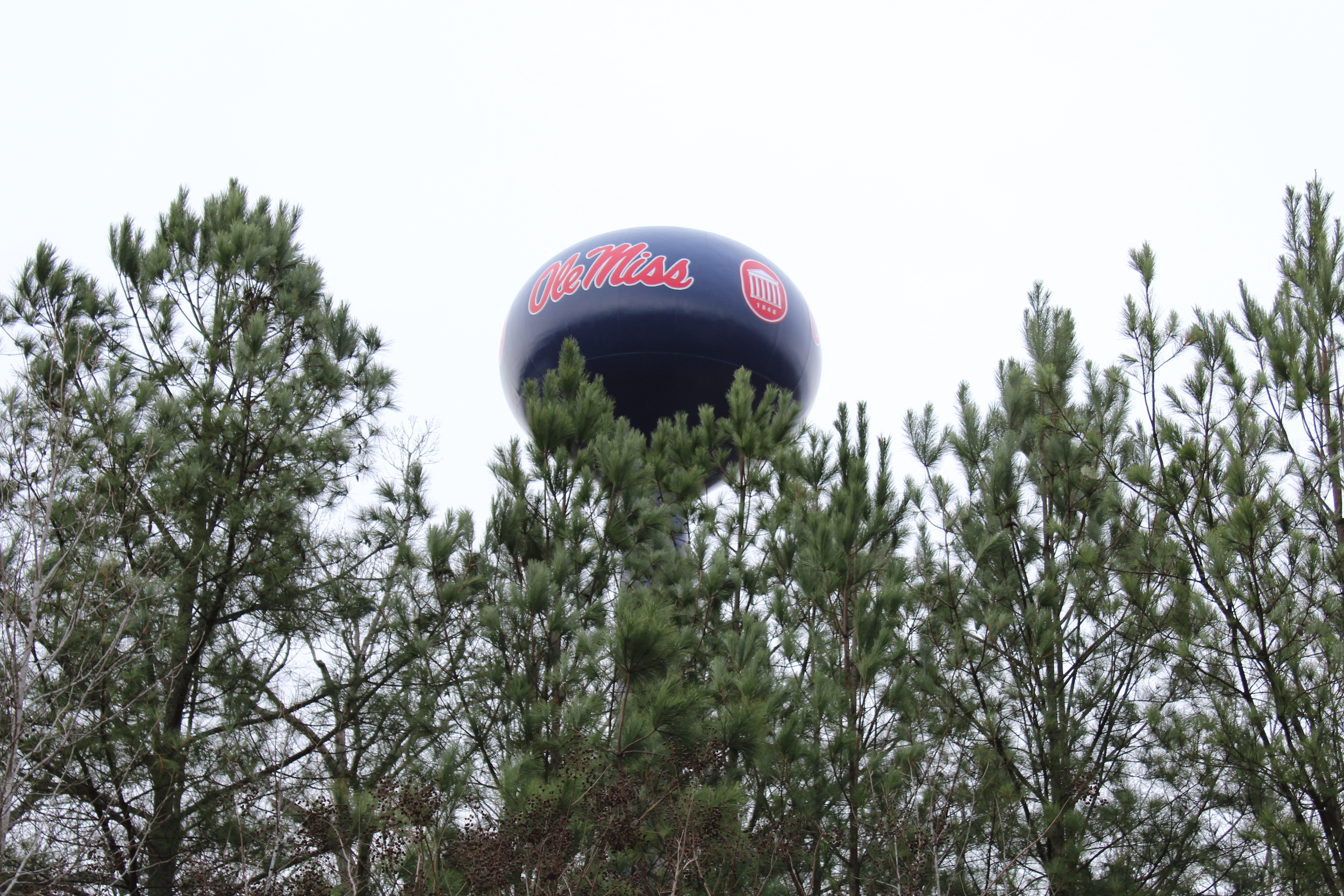 Ole Miss Water Tower