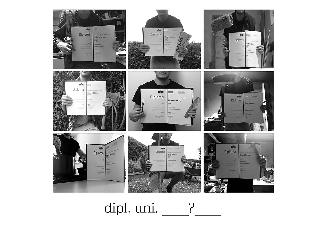 Rene Macura  (1. letnik 2. stopnje likovne pedagogike)  Dipl. uni.  ?  , 2018 digitalni print (mentorja: red. prof. Dušan Zidar, spec. in doc. Polonca Lovšin, spec.)