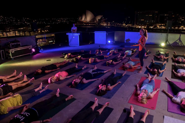 Media Launch of MCA Spring Yoga Series