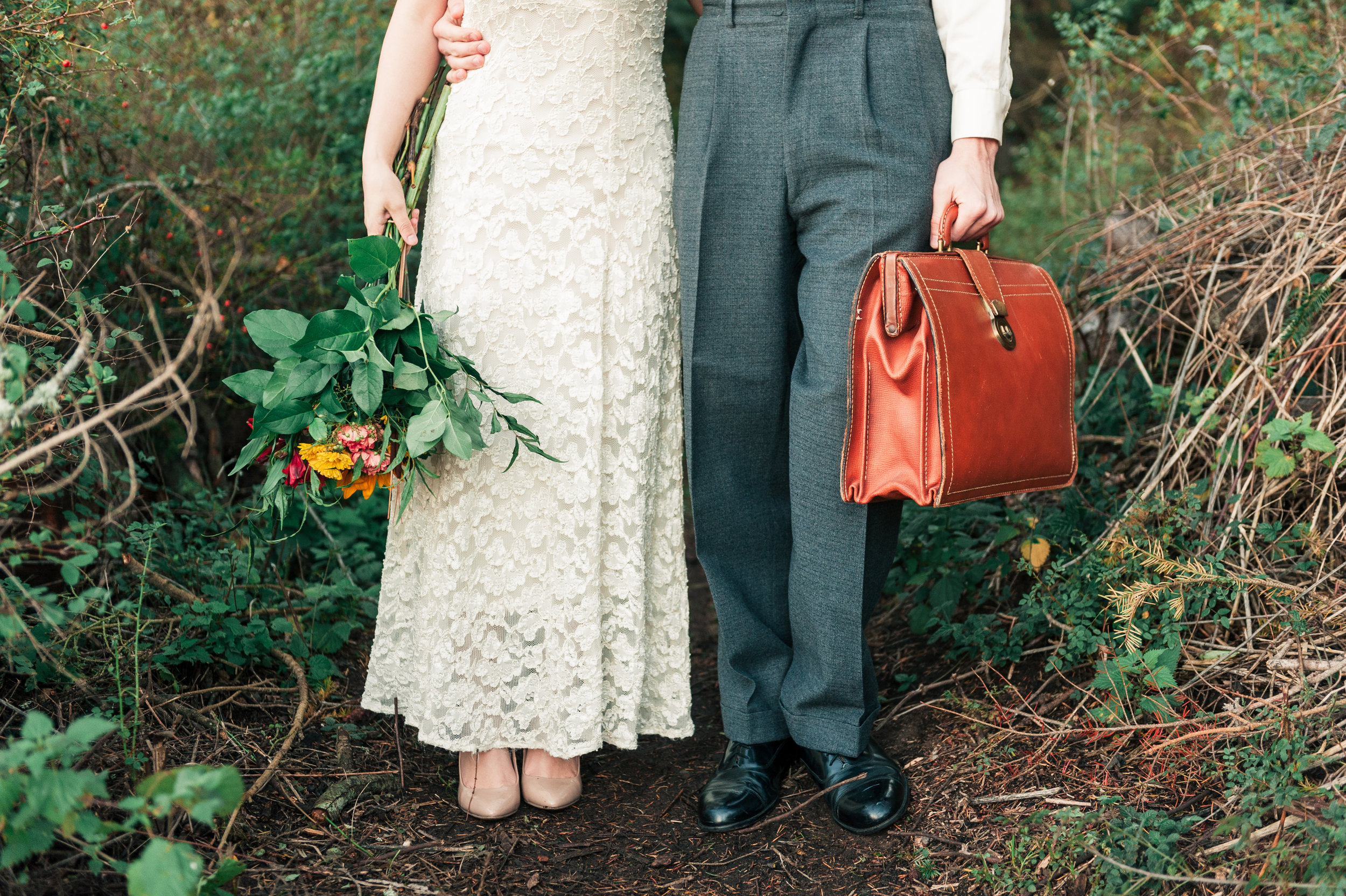 PNW Bride and Groom