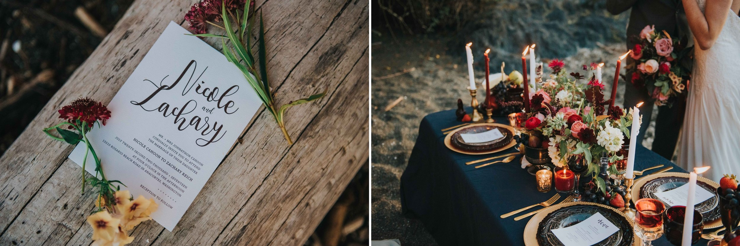 Roman Inspired Table Setting