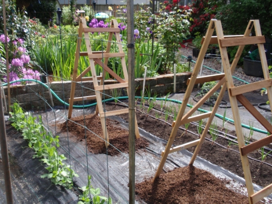 Soaker hoses can keep your garden happy during a heat wave
