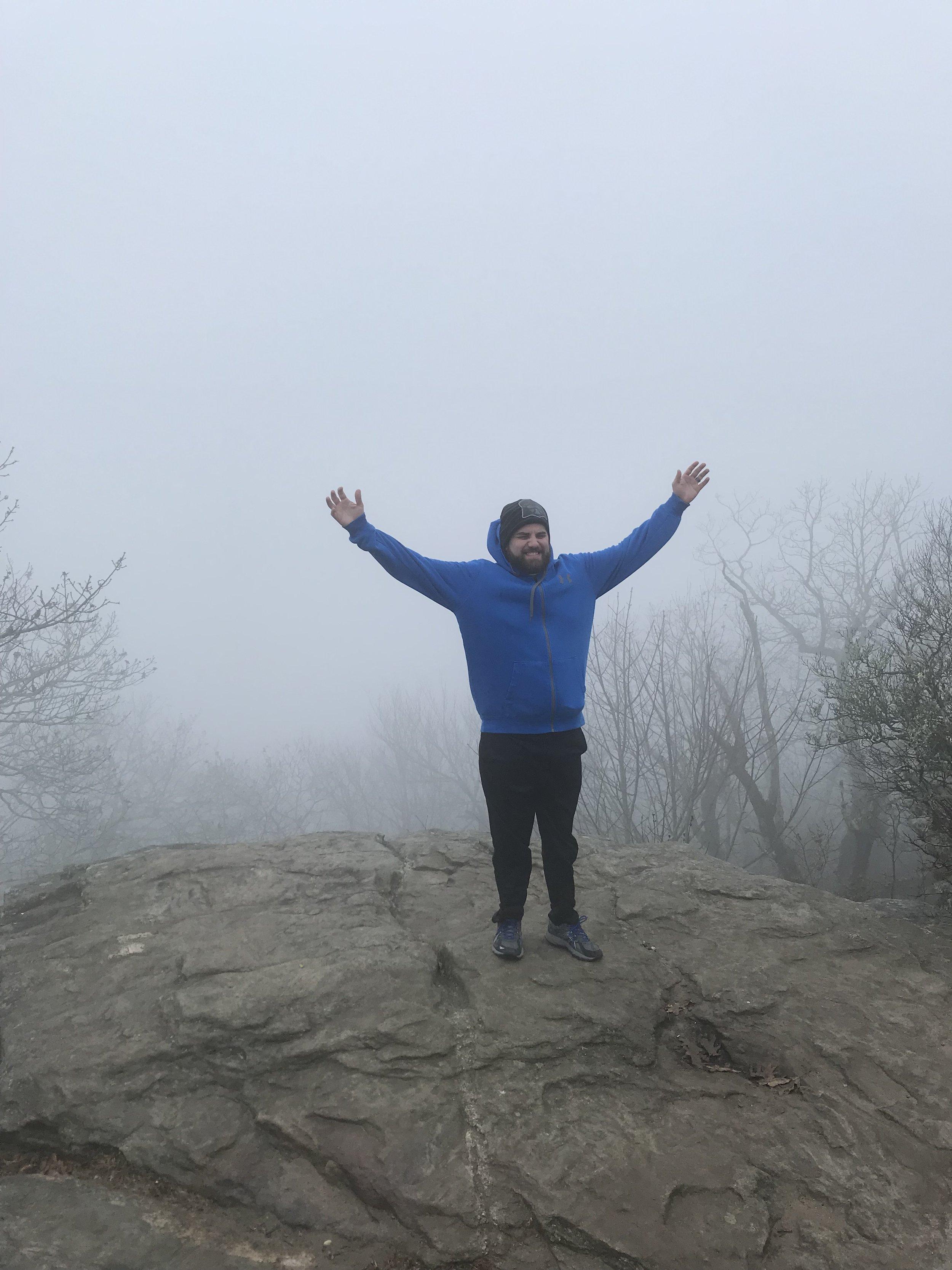 - Hiking Blood Mountain