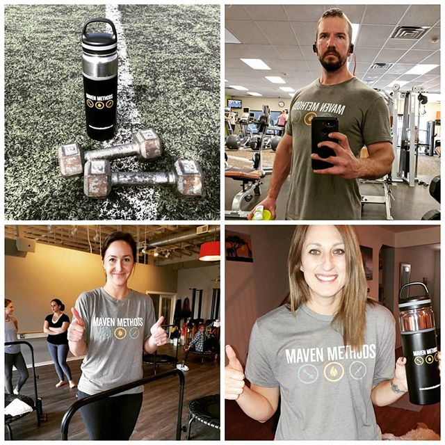 Come get your Maven gear while its in stock! New items coming soon! Thanks for reppin guys! 🤘🙏🔥@caracaracara12 @kristiegums @kathygums @danielschneekloth @downser2 @saraharrieta27 @courtneyjuliana @kindaljumper @tncaveman @onoratolisa  #mavenmethods #personaltrainer #performancetraining #fitnessentrepreneur #hiitworkout #cardio #circuittraining #fitgoals #fitmotivation #fitspo #fitknowledge #getitin #getoutside #sweat #effort #fitswag #fitgear #nashvillelately #nashvillefit #nashvilletrainer #musiccityfit