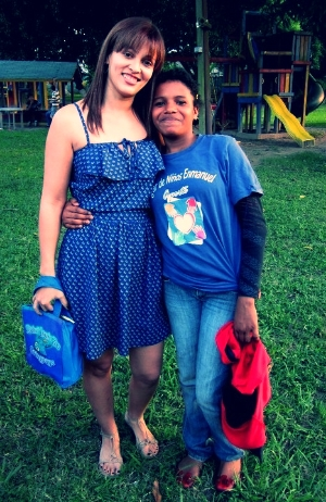 At one of the local orphanages in my city in 2013