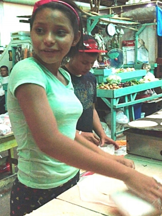 Marcela is an orphan (14) who works at the market 7 day a week making tortillas to support herself. I recently found out she is pregnant. She needs help and a second chance at an education!