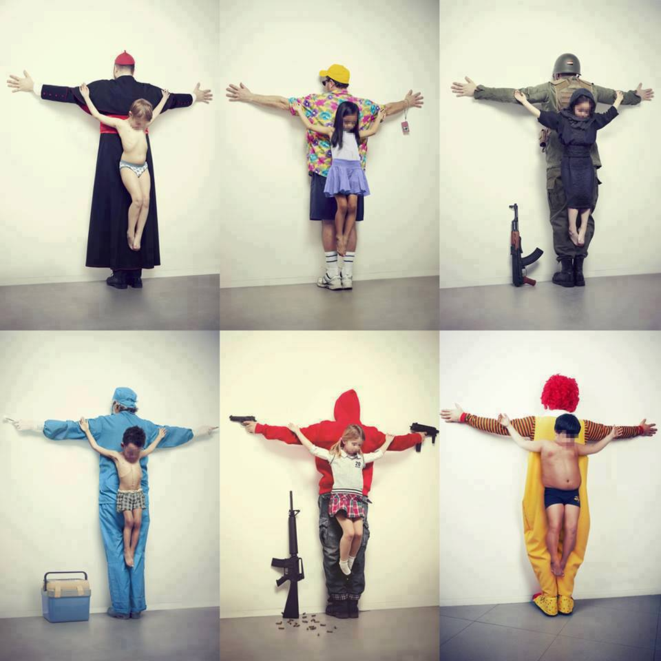 """Cuban Artist, Eric Ravelo's contemporary installation, """"Los Intocables/The Untouchables"""""""