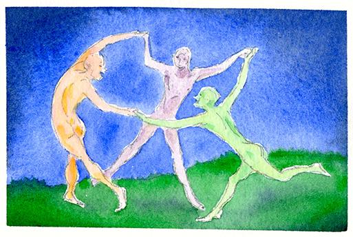The Trinity by Eugene Salandra
