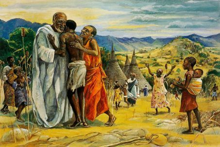 """The Prodigal Son"" - Jesus Mafa"