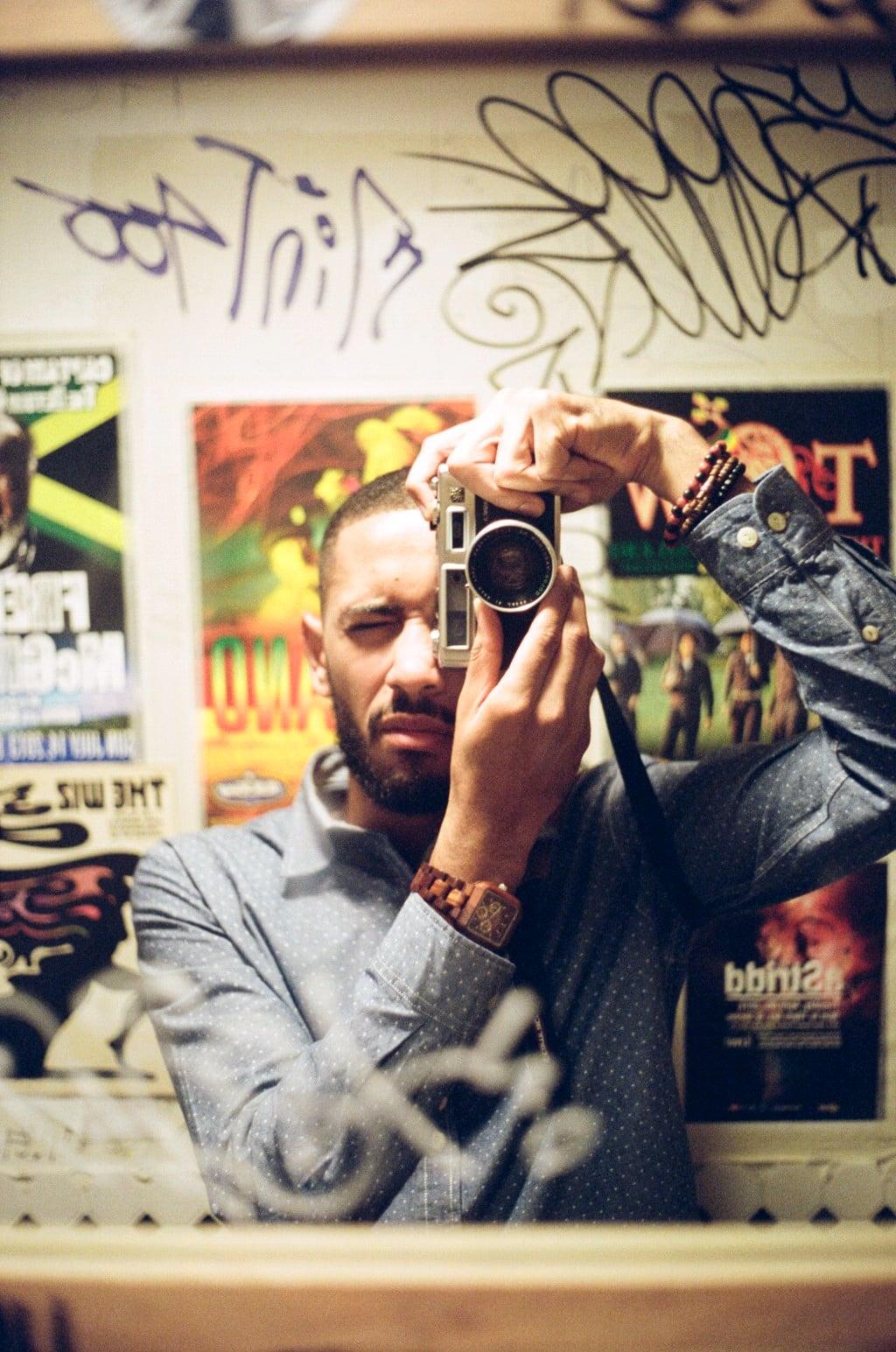 """""""Shrine"""" - Harlem, Self Portrait, 2014"""